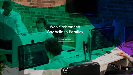 scroll parallax