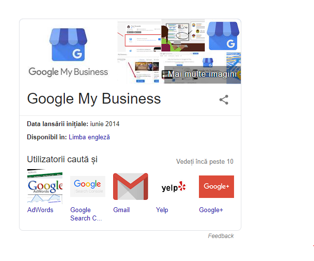 importanța paginii Google My Business