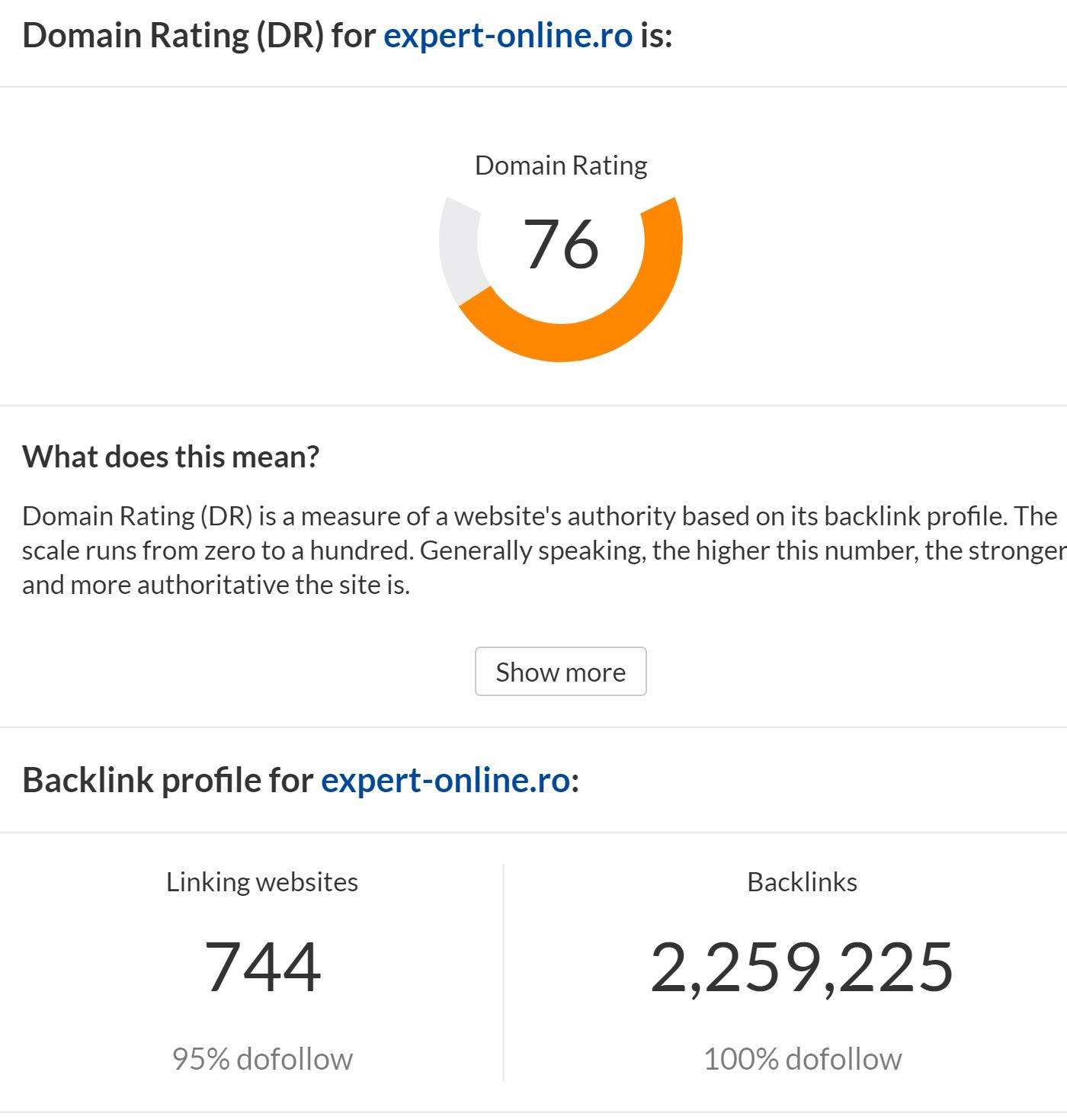 domain authrity expert online